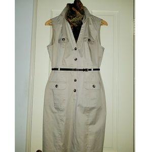 H&M khaki dress